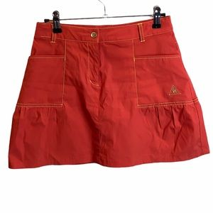 Le Coq Sportif France Coral Golf Skort Size Small